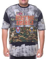 Shirts - S/S Heritage America Crew Neck Tee (B&T)