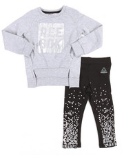 Girls - Live Fast Get Fit 2 Piece (2T-4T)
