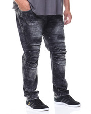 Men - Split Knee Denim Jeans (B&T)