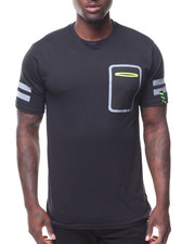 Men - S/S Reflective Pocket Tee