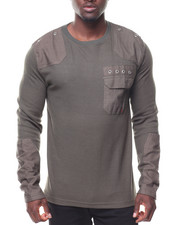 Men - L/S Thermal Pocketed Tee