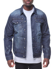 Men - Denim Jacket Waistband Trim