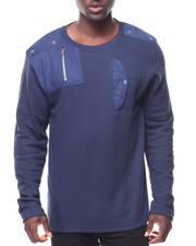 Men - L/S Side Pocket Thermal Tee