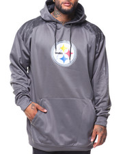 Men - L/S Pittsburg Steelers Hoodie (B&T)
