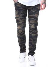 Jeans - CAMO MOTTO JEANS ZIPPER POCKET