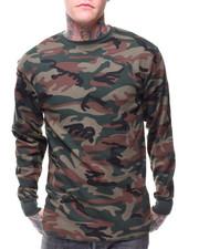 Shirts - Solid L/S Crewneck Thermal Top