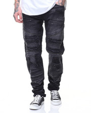 Jeans - Motto Patch Jeans