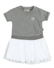 Girls - Popover Tulle Dress (4-6X)