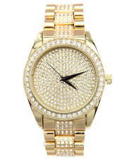 Men - Partial Iced Out Watch