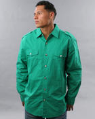 Button-downs - MILITARY WOVEN SHIRT