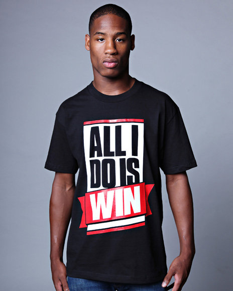 1TWO Men All I Do Is Win Tee - Shirts