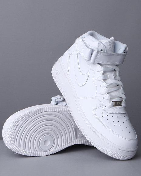 Nike Boys Air Force 1 Mid Sneakers (3.5-7) - Footwear
