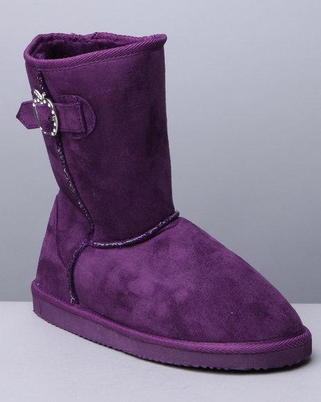 Apple Bottoms Women Purple Veronica Winter Boots