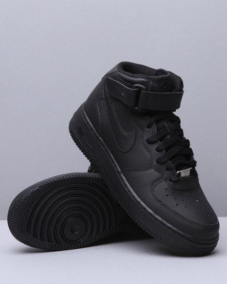 Nike Boys Air Force 1 Mid (GS) - Footwear