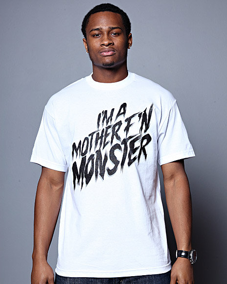 1TWO Men Im A Monster Tee - Shirts