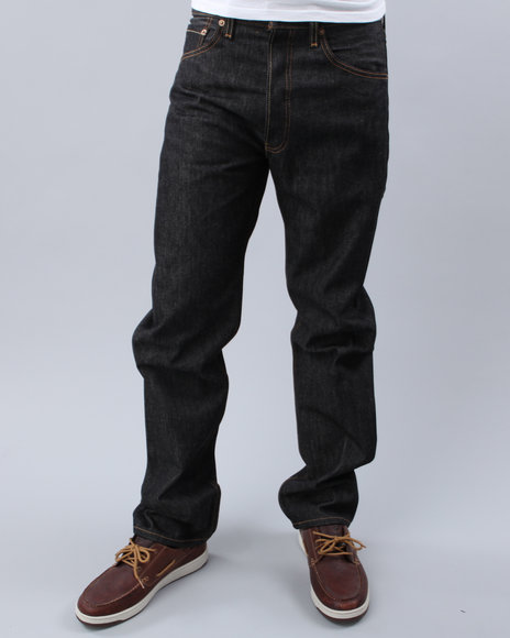 Levi's - Men Black 501 Shrink-To-Fit Jeans