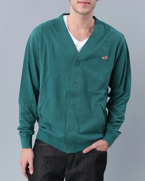 akoo clothing sweaters bronze cardigan