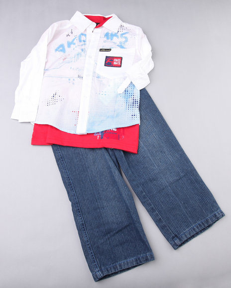 - FUTURE GALAXY PANT SET (NEWBORN)