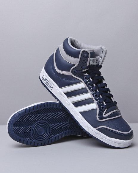 Adidas Men Navy Top Ten Hi Sneakers