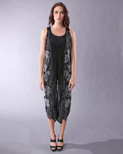 DJP OUTLET - LONG SEED BEADED VEST