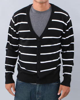 Southpole - Stripe Sweater Cardigan