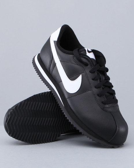Nike Boys Black Cortez '07 (Grade-School Kids)