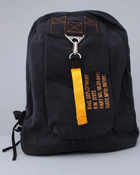 1456. 1023.  Мужской рюкзак Authentic vintage canvas flight bag.