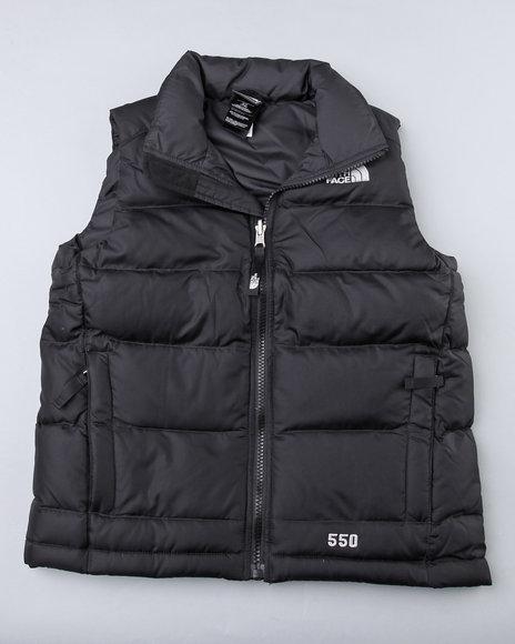 The North Face Boys Black Aconcagua Vest