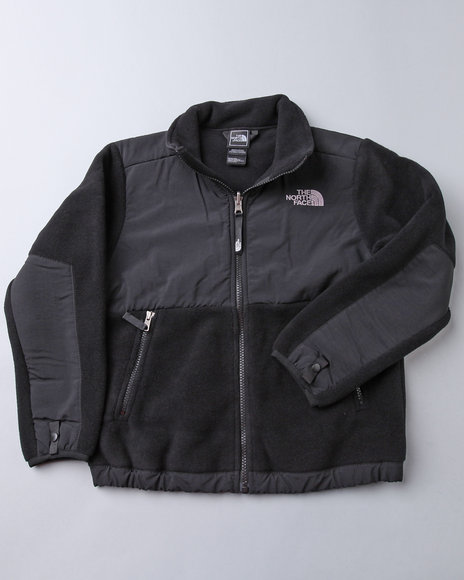 The North Face - Boys Black Denali Jacket