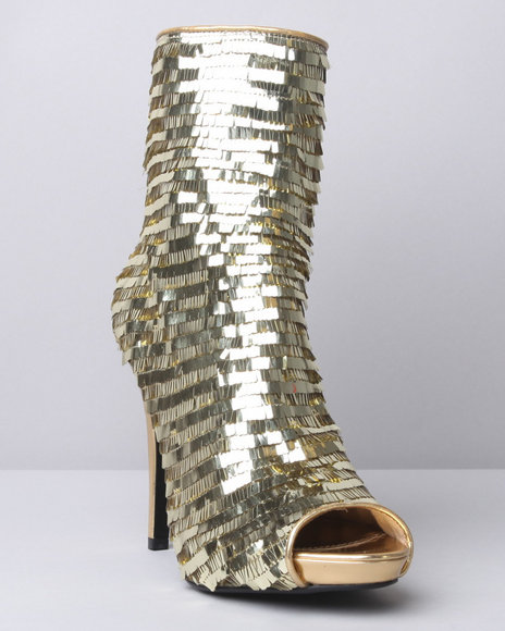 Image of Dereon Women Gold Dynamite Bootie