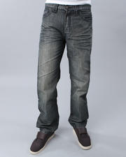 The Jeans Shop-Men - STUDDED TURF FLAP DENIM JEANS