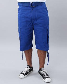 Basic Essentials - TWILL CARGO SHORTS