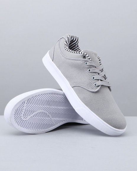 Buyers Picks Men Grey,Grey The Manco Lowtop Sneaker