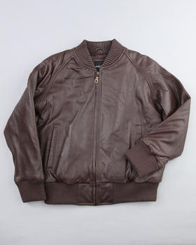 DRJ Leather Shoppe - Classic Bomber Jacket, 4-12