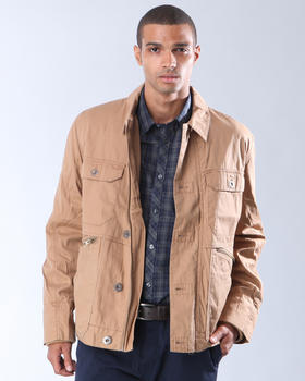 DJP OUTLET - Canvas Button Front Jacket