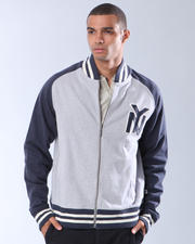 Hoodies - Blue Marlin NEW YORK TWO TONE FLEECE JACKET