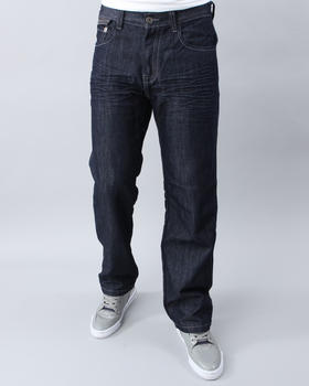 MO7 - STRAIGHT FIT WAX COATED DENIM JEANS