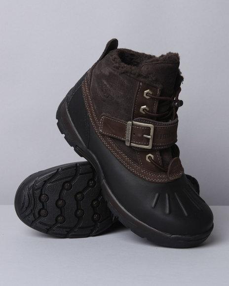 Timberland Boys Black Mallard Waterproof Mid Boots
