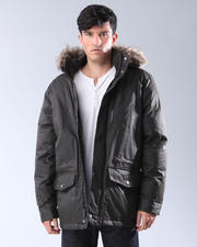 Hoodies - Snorkel Coat w/Fur Trim Hood