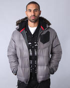 Psyberia - Pinnacle Cire Nylon Hooded Jacket