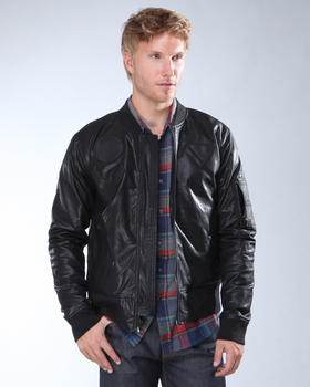 DJP OUTLET - BOMBER WITH PATCHES