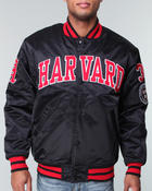 Outerwear - Harvard Ivy League Baseball Satin Jacket