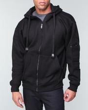 Basic Essentials - Full Zip Fleece Hoodie