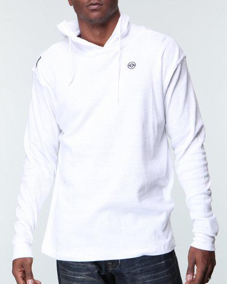 Enyce Men White Balistic Hood Thermal