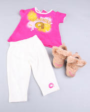 Newborn - 3 PC SET W/BOOTS (NEWBORN)