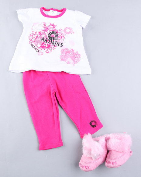 - 3 PIECE SET WITH BOOTS (NEWBORN)