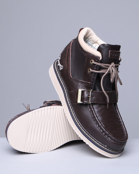 Coogi Men Aston Ii Strap Boots - Footwear