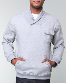 Buyers Picks - Fleece Shawl neck w/ detailed pocket