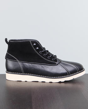DJP OUTLET - Suede/Leather Duck Boot