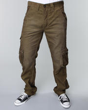 Wear Now STEALS - Men - Dark Olive Corduroy Cargo Pants